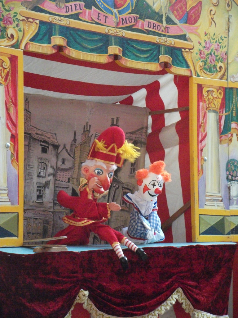 bryan clarke punch and judy club book