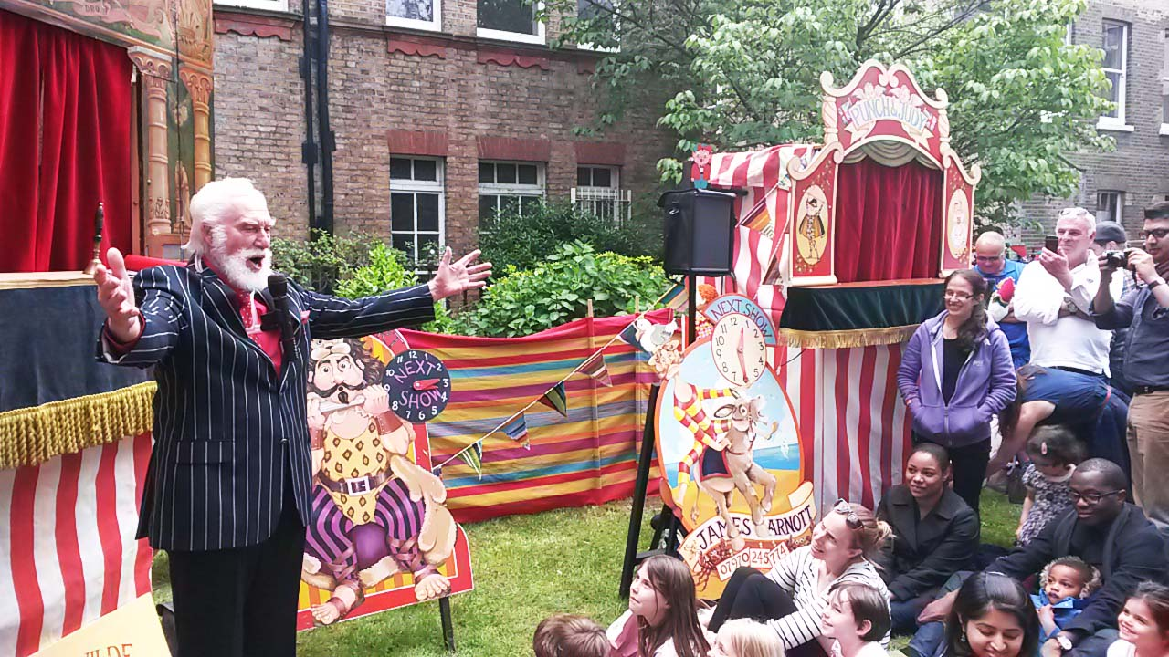 bryn clarke punch and judy club