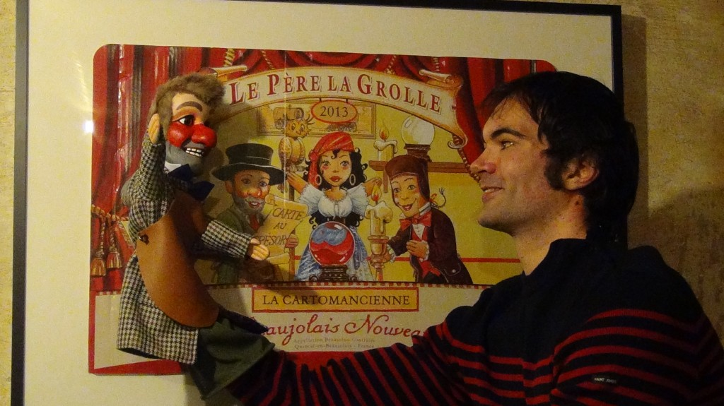 mark poulton book punch and judy show